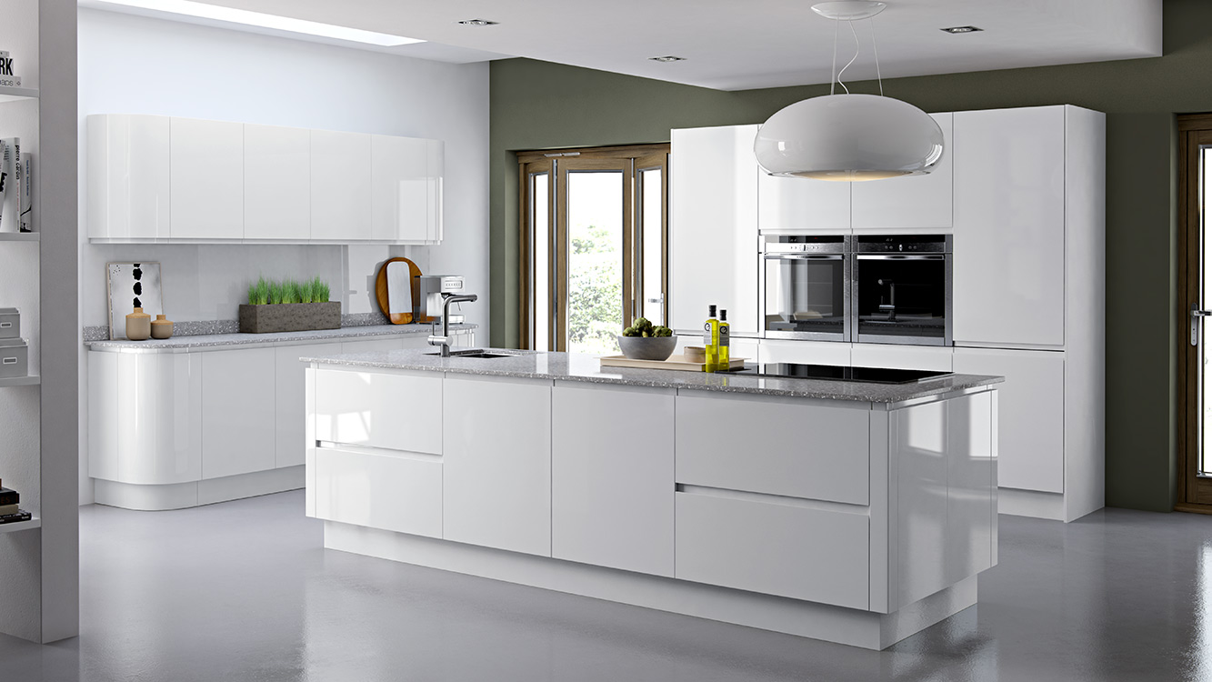 Luxury Fitted Modern Designer Kitchen