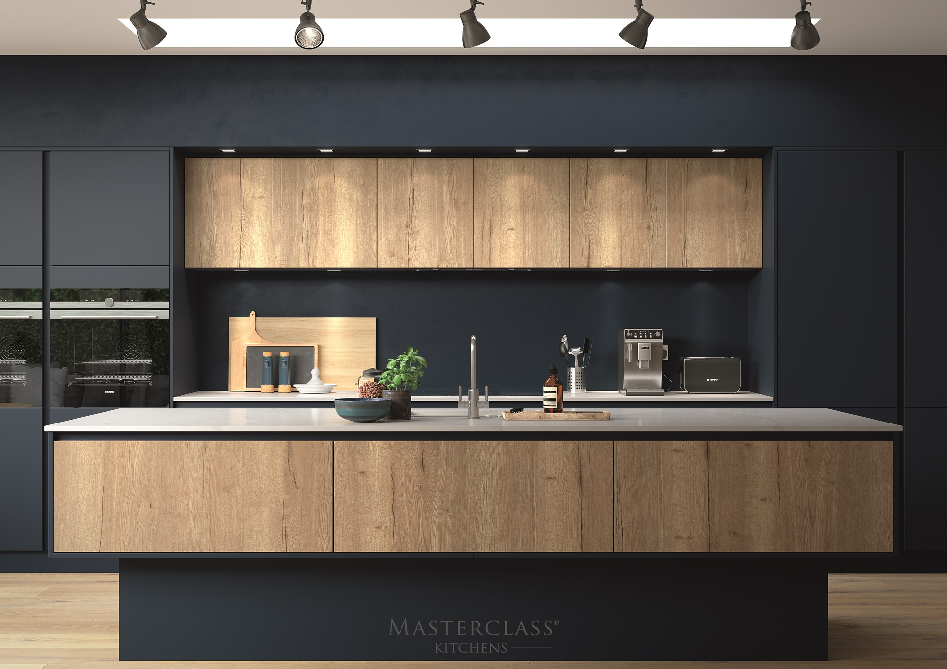 New Forest Designs Luxury Handleless Kitchens