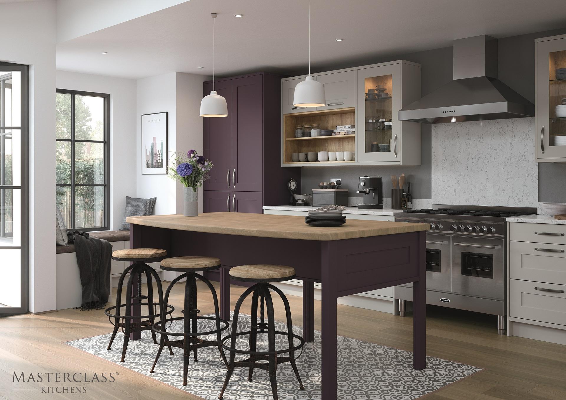 MARLBOROUGH_MAIN_MULBERRY_SCOTS_GREY luxury designer shaker kitchen