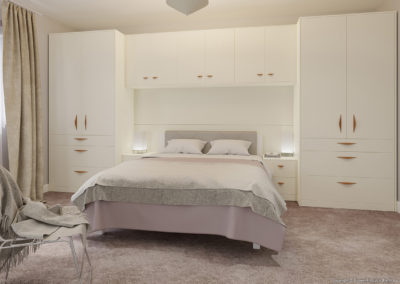 CROWN Locano Touch Creme Fitted Bedroom