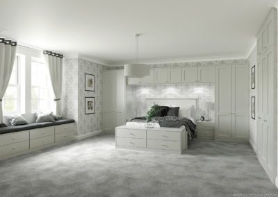 CROWN Midsomer LightGrey A Fitted Bedroom