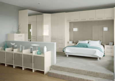 CROWN Rialto Oyster_Titanium 2 Fitted Bedroom