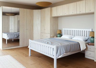 CROWN Textura Elm Fitted Bedroom