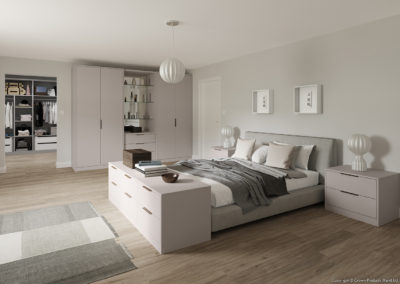 CROWN Zeluso Cashmere Fitted Bedroom