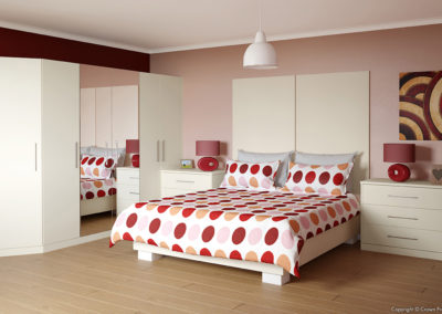 CROWN Zeluso Magnolia Fitted Bedroom