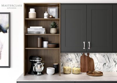 Chatsworth-Graphite-Cameo Luxury Designer Shaker Kitchen