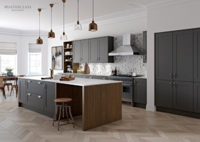 Chatsworth-Graphite Luxury Designer Shaker Kitchen