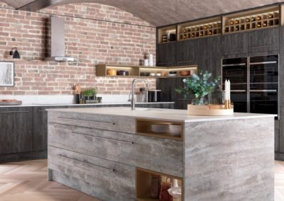 Deco Tundra Stone with Twilight copy luxury modern designer kitchen