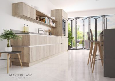 H-Line-Madoc Mayfield Oak copy luxury designer handleless h line kitchen