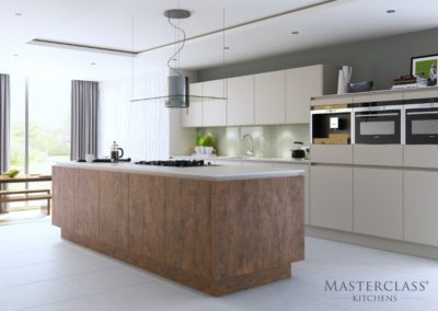H-line-hampton-highland-stone-deco-copper-oxide luxury designer handleless h line kitchen