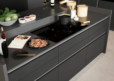 H-line-larna-graphite-cameo-1 luxury designer handleless h line kitchen