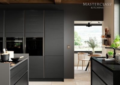 H-line-larna-graphite-cameo-3 luxury designer handleless h line kitchen