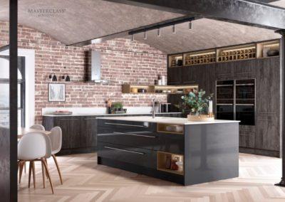 Lumina Graphie with Deco Twilight copy luxury modern designer kitchen