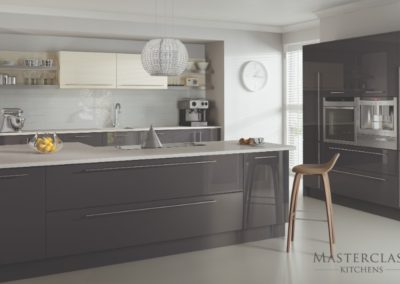 Lumina Graphite copy luxury modern designer kitchen