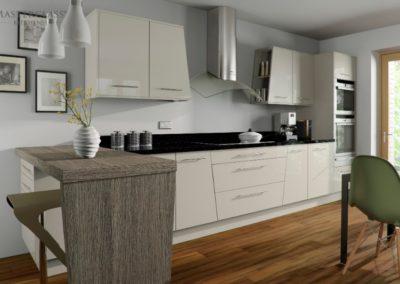 Lumina Mussel copy luxury modern designer kitchen