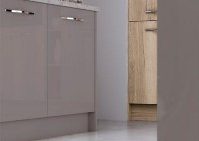 Lumina Stone Grey with Madoc Mayfield Oak copy luxury modern designer kitchen