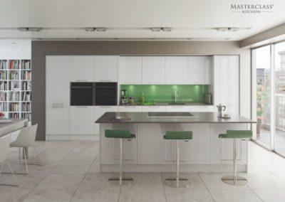 Lumina-White copy luxury modern designer kitchen