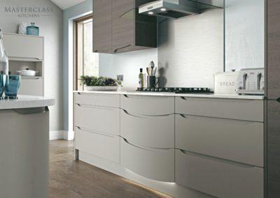 Luna-Teardrop luxury modern designer kitchen