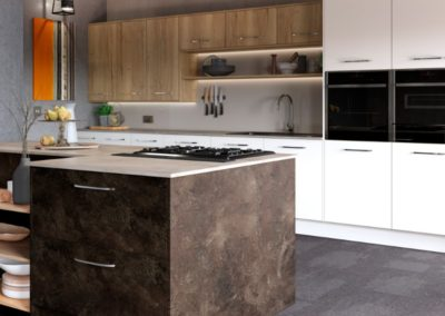 Madoc Terra with Mayfield Oak and Lumina White 2 copy luxury modern designer kitchen