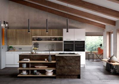 Madoc Terra with Mayfield Oak and Lumina White copy luxury modern designer kitchen