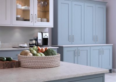 Marlborough Coasal Mist with White 3 copy Luxury Designer Shaker Kitchen