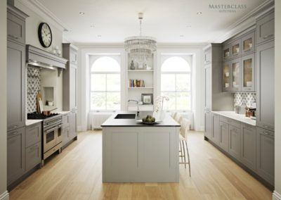 Marlborough-LightGrey-DustGrey Luxury Designer Shaker Kitchen