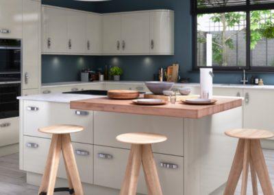 Nevada Ivory copy luxury modern designer kitchen