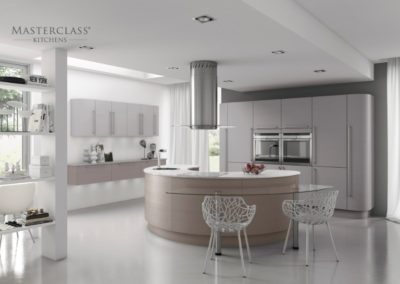 Reno Stone Grey Grained with Light Grey Grained copy luxury modern designer kitchen
