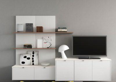 Reno-White-OpenGrained luxury modern designer kitchen