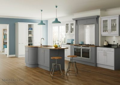 Sherborne-Light-DustGrey Luxury Designer Shaker Kitchen
