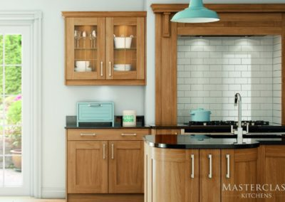 Sherborne-Oak-CMYK Luxury Designer Shaker Kitchen