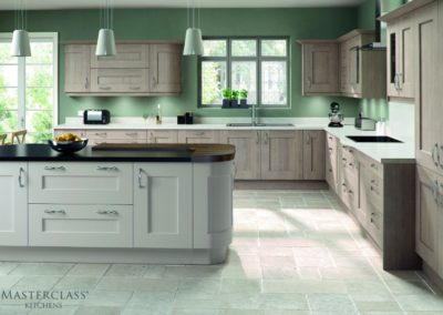 Solva Cinnamon & Mussel Shaker Kitchen Luxury Designer Shaker Kitchen