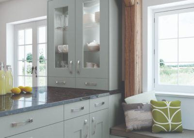 Solva-LightBlue Luxury Designer Shaker Kitchen