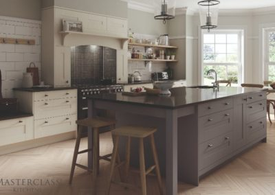 WIMBOURNE_DUST GREY_IVORY_MAIN_ADOBE98_RGB_8BIT_170616 copy Luxury Designer Shaker Kitchen