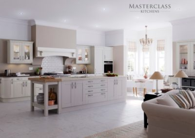 Wimbourne-HeritageGrey-Mussel-Main Luxury Designer Shaker Kitchen