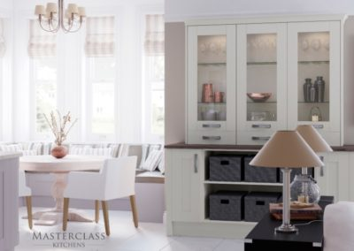 Wimbourne-Mussel-Dresser Luxury Designer Shaker Kitchen