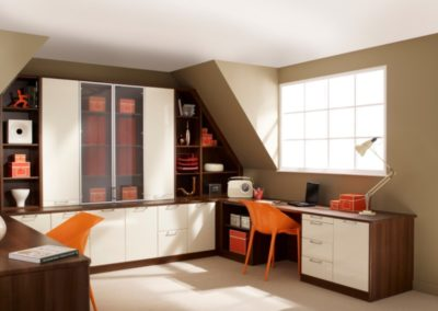 Designer Walnut Cream 1 Office