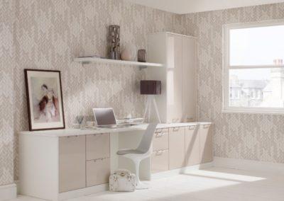 Designer White Mushroom 1 Office