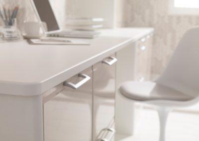 Designer White Mushroom 4 Office