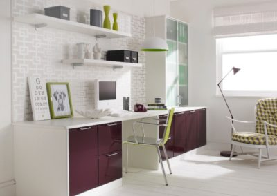Designer White Plum 2 Office