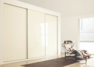 Sliding Wardrobe CreamHS 1 Bedroom