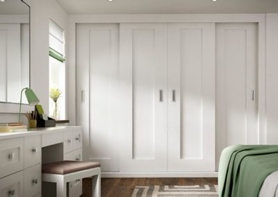 Sliding White CAMEO V3DOF Bedroom