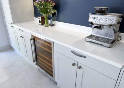 Oxford Blue Modern Shaker Kitchen 11