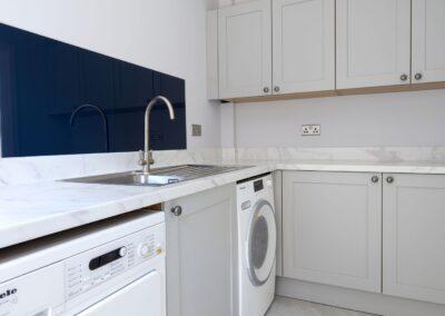 Oxford Blue Modern Shaker Kitchen 12