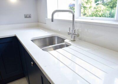 Oxford Blue Modern Shaker Kitchen 13