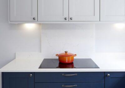 Oxford Blue Modern Shaker Kitchen 14