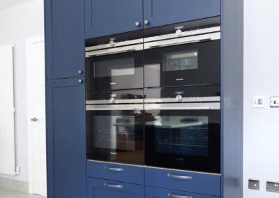 Oxford Blue Modern Shaker Kitchen 5
