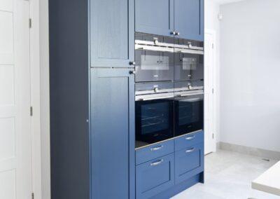 Oxford Blue Modern Shaker Kitchen 6