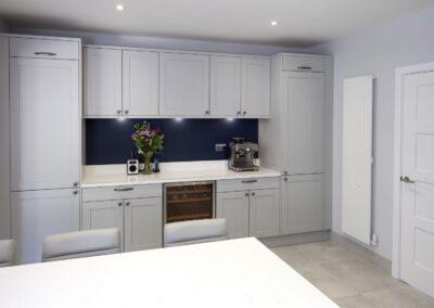 Oxford Blue Modern Shaker Kitchen 8