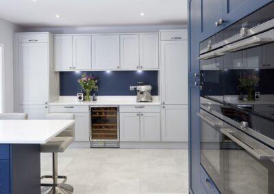 Oxford Blue Modern Shaker Kitchen 9